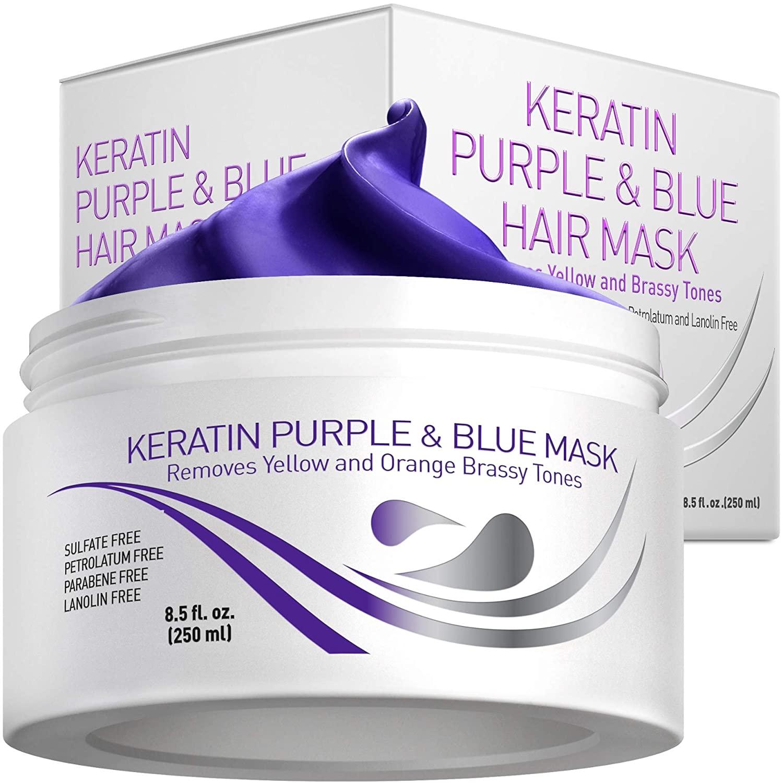 STYLECASTER | Purple hair masks