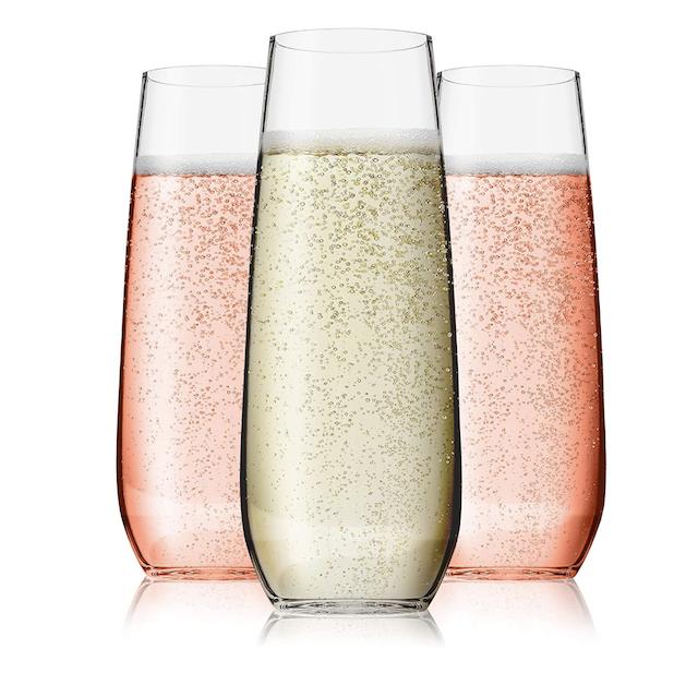 Vivocci Champagne Flutes