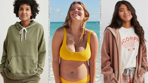 Aerie's 60% Off Sale Has Comfy Sweats For Now & Cute Swimsuits For Later | StyleCaster