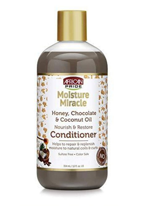 African Pride Moisture Miracle Honey Chocolate Coconut Oil Conditioner