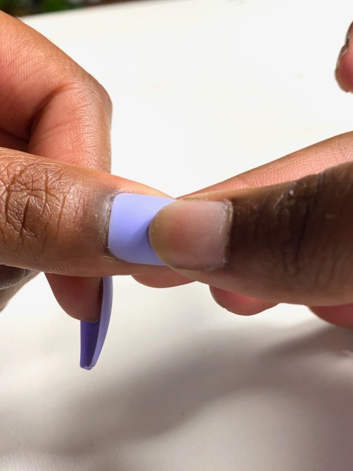 hot to apply press on nails
