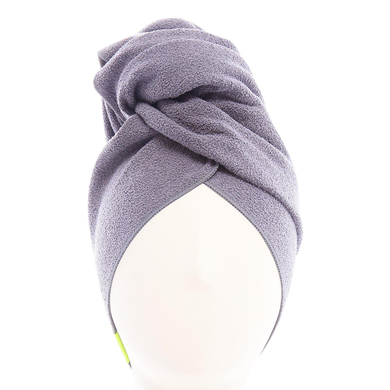 Asciugamano per capelli Aquis amazon
