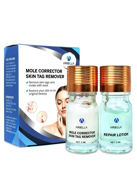 Ariella Mole and Skin Tag Remover and Repair Lotion Set