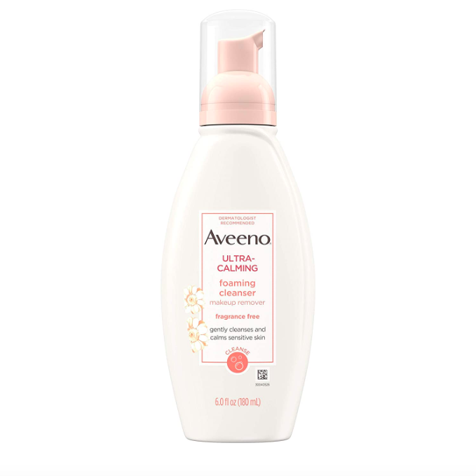 aveeno ultra calming cleanser 7 Soothing Products Getting Me Through the Retinol Scaries