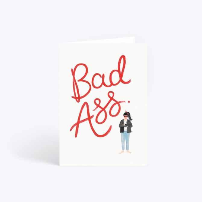 STYLECASTER | Graduation Gift Ideas 2020 | bad ass card