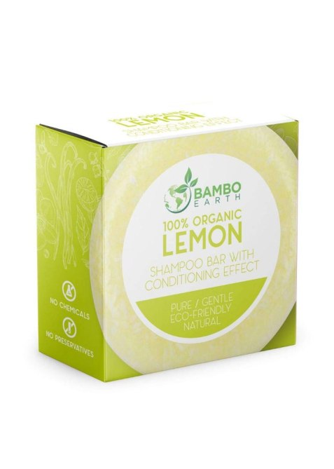 Bamboo Earth Solid Shampoo Bar With Conditioner Effect