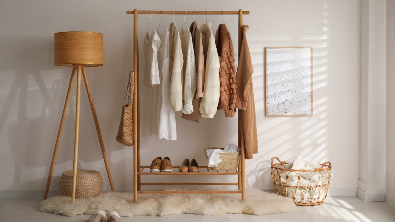Our Favorite Garment Racks That Give You Extra Storage Space, But Also Look Chic