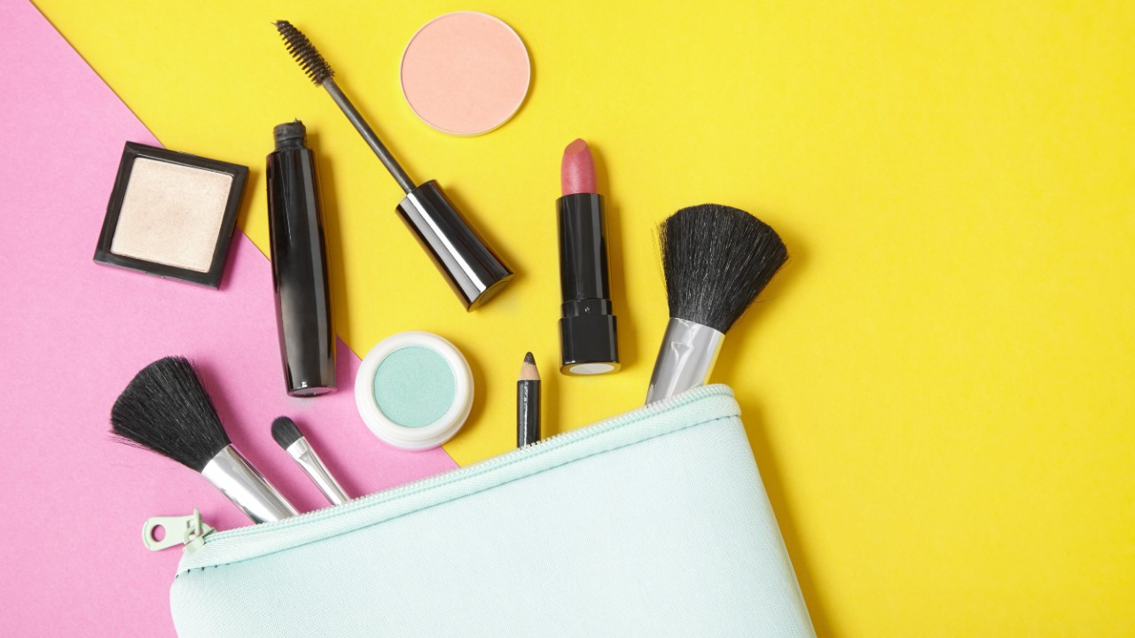 Easy-to-Clean Makeup Bags That'll Streamline Your Beauty Routine