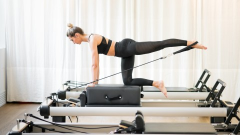 These Pilates Reformers Transform Your Home Into a Swanky Boutique Fitness Studio | StyleCaster
