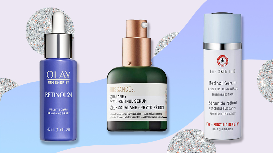 Smoothing Retinol Serums to Sandwich Between Your Cleanser and Night Cream