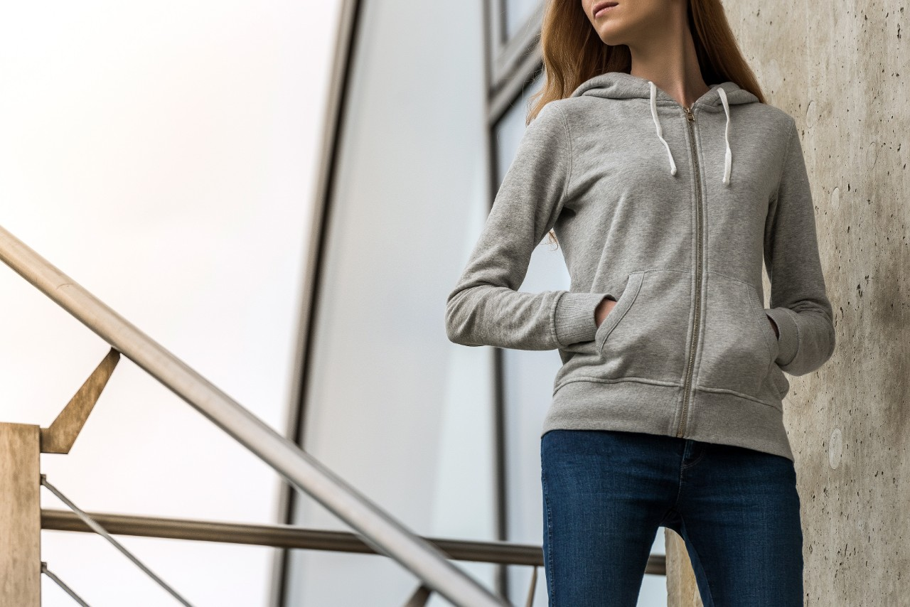 Classic Zip-Up Hoodies for Women to Lounge Around Or Run Laps In