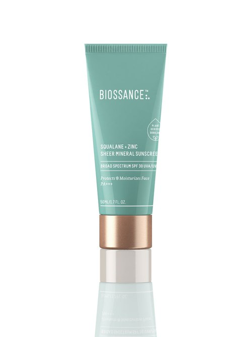Biossance Squalane Zinc Sheer Mineral Sunscreen