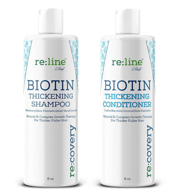 Biotin Shampoo and Conditioner for Thinning