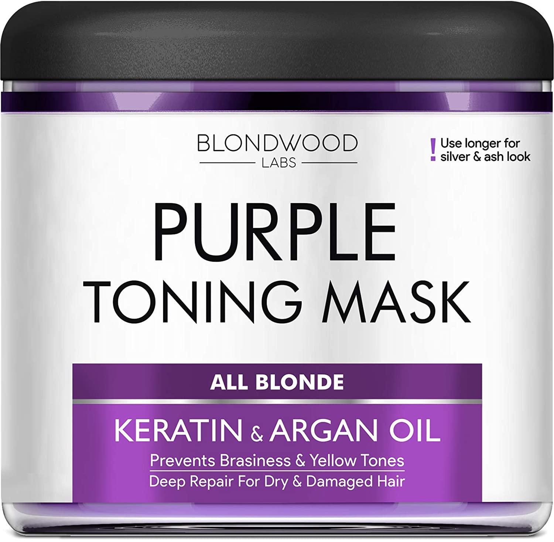Blondewood Purple Toning Mask