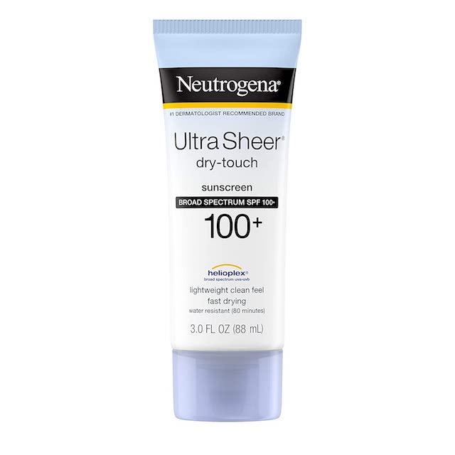 body sunscreen neutrogena Full Body Sunscreens Youll Actually Enjoy Applying —Year Round