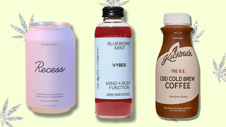 These CBD Beverages Are So Necessary When You Need A Moment To Unwind | StyleCaster