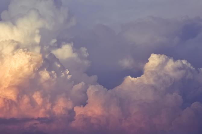 STYLECASTER   Zodiac Signs Zoom Background   clouds sky sunset