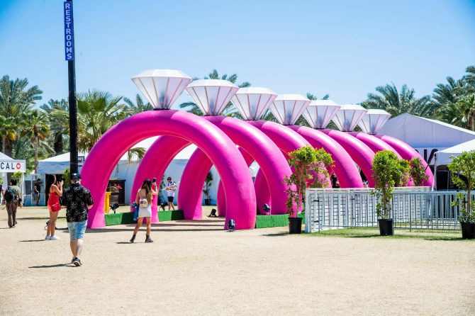 STYLECASTER   Festival Zoom Backgrounds   ariana grande seven rings art