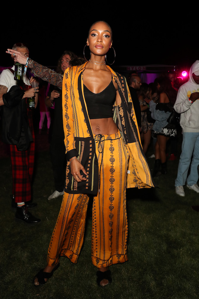 STYLECASTER | Best Coachella Fashion | Jourdan Dunn