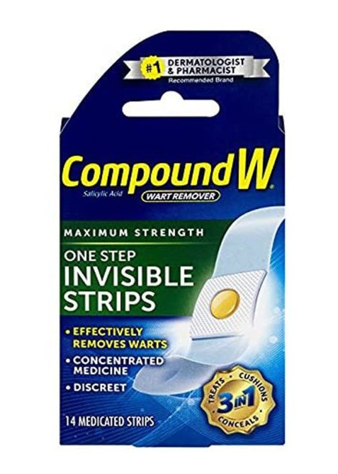 Compound W One Step Invisible Strips