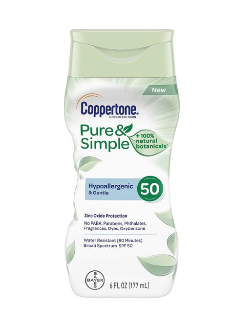 Coppertone Pure and Simple Sunscreen