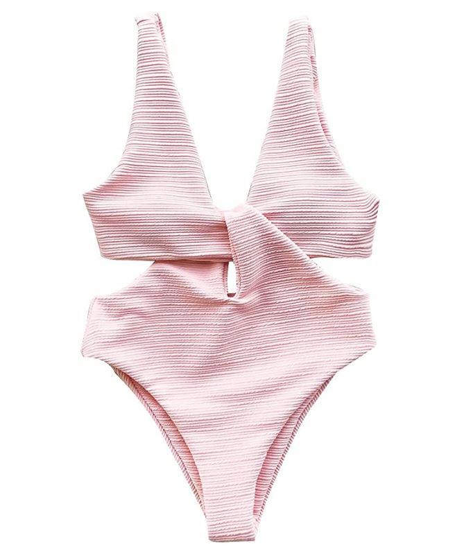 Costume intero rosa Cupshe amazon