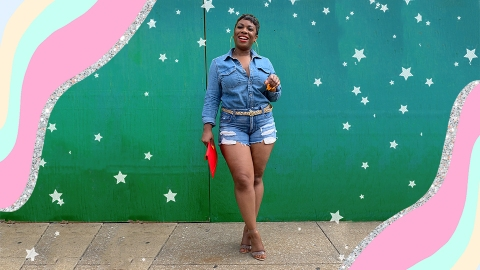 """How Accepting My """"Grown Woman Weight"""" Helped Me Love My Curves   StyleCaster"""