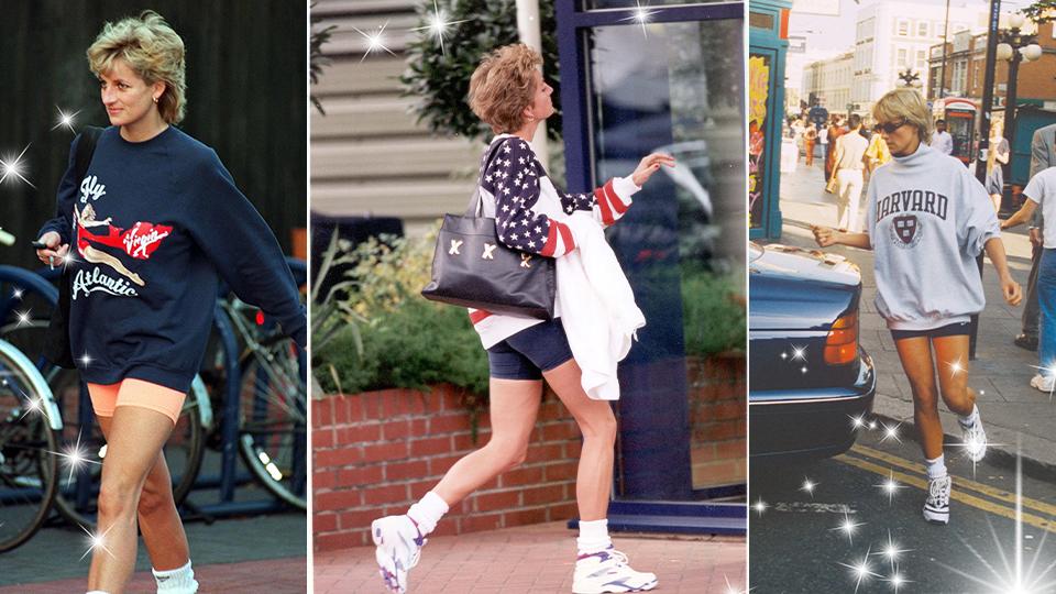 princess diana s best fashion style 3 athleisure looks to copy now stylecaster princess diana s best fashion style