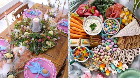 Let These Easter Ideas Inspire You To Have The Prettiest At-Home Celebration Ever | StyleCaster