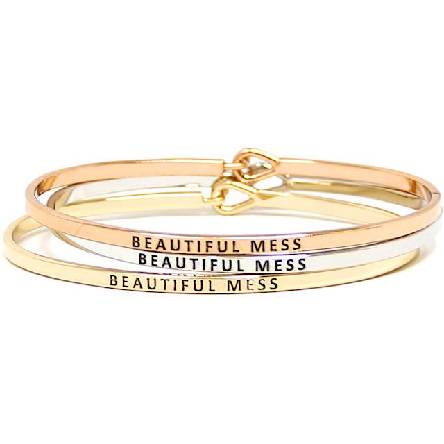 engraved bracelets by you Stylish Engraved Bracelets That Are Basically Wearable Motivation