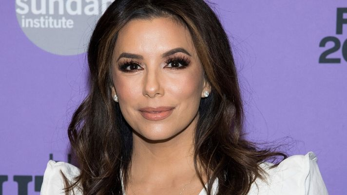 Eva Longoria Covering Her Gray Roots Is Oddly Satisfying