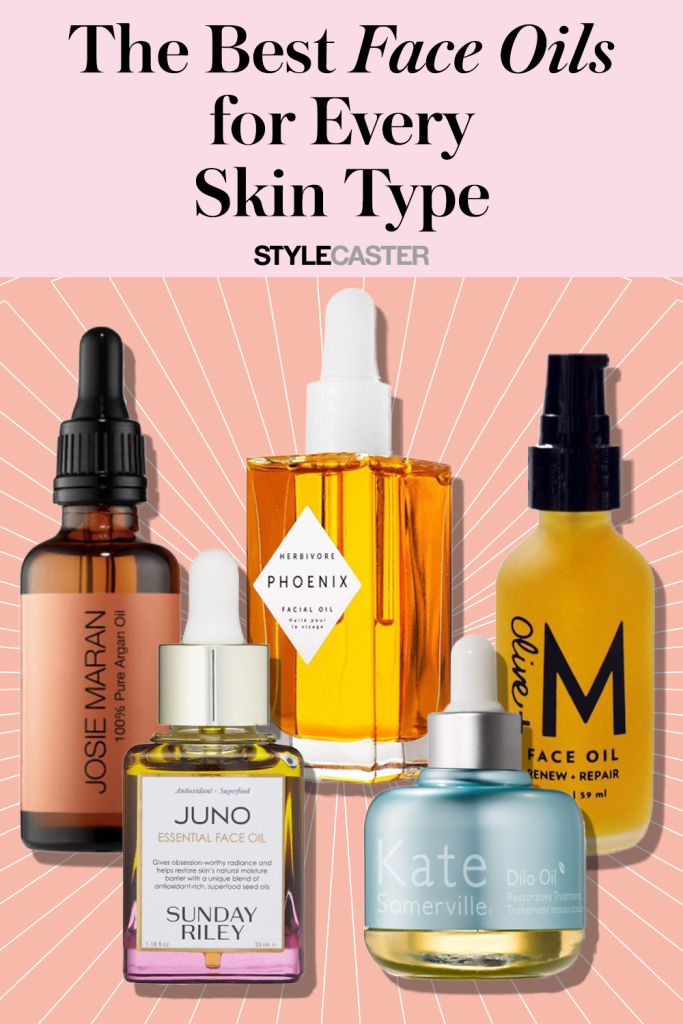 STYLECASTER   best facial oils   best face oils   face oils for dry skin   face oils for oily skin   face oils for acne   face oils for combination skin   how to use face oils   natural face oils