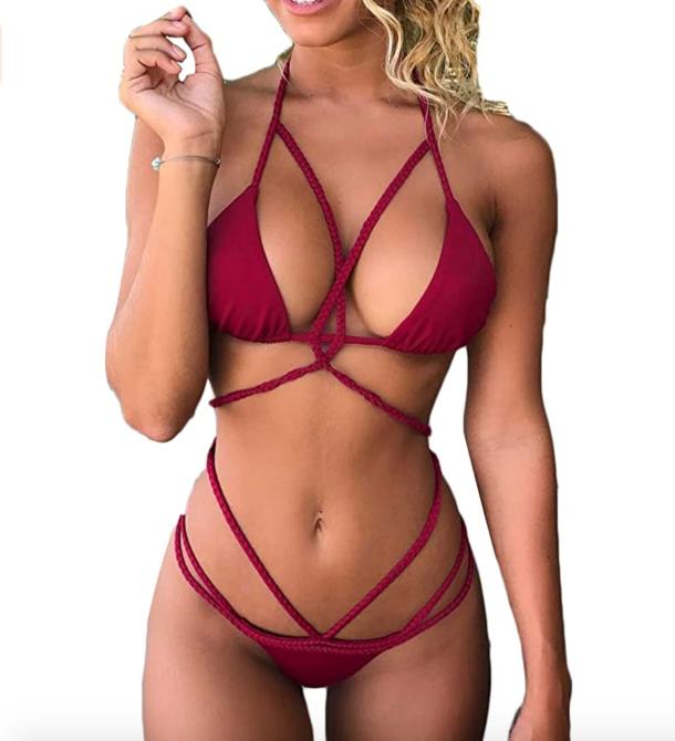STYLECASTER | Floss Bikini Swim Trend