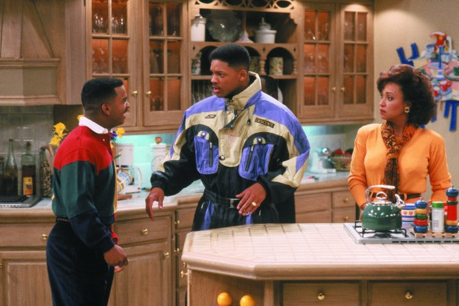 STYLECASTER | 90s Zoom Backgrounds | fresh prince of bel air