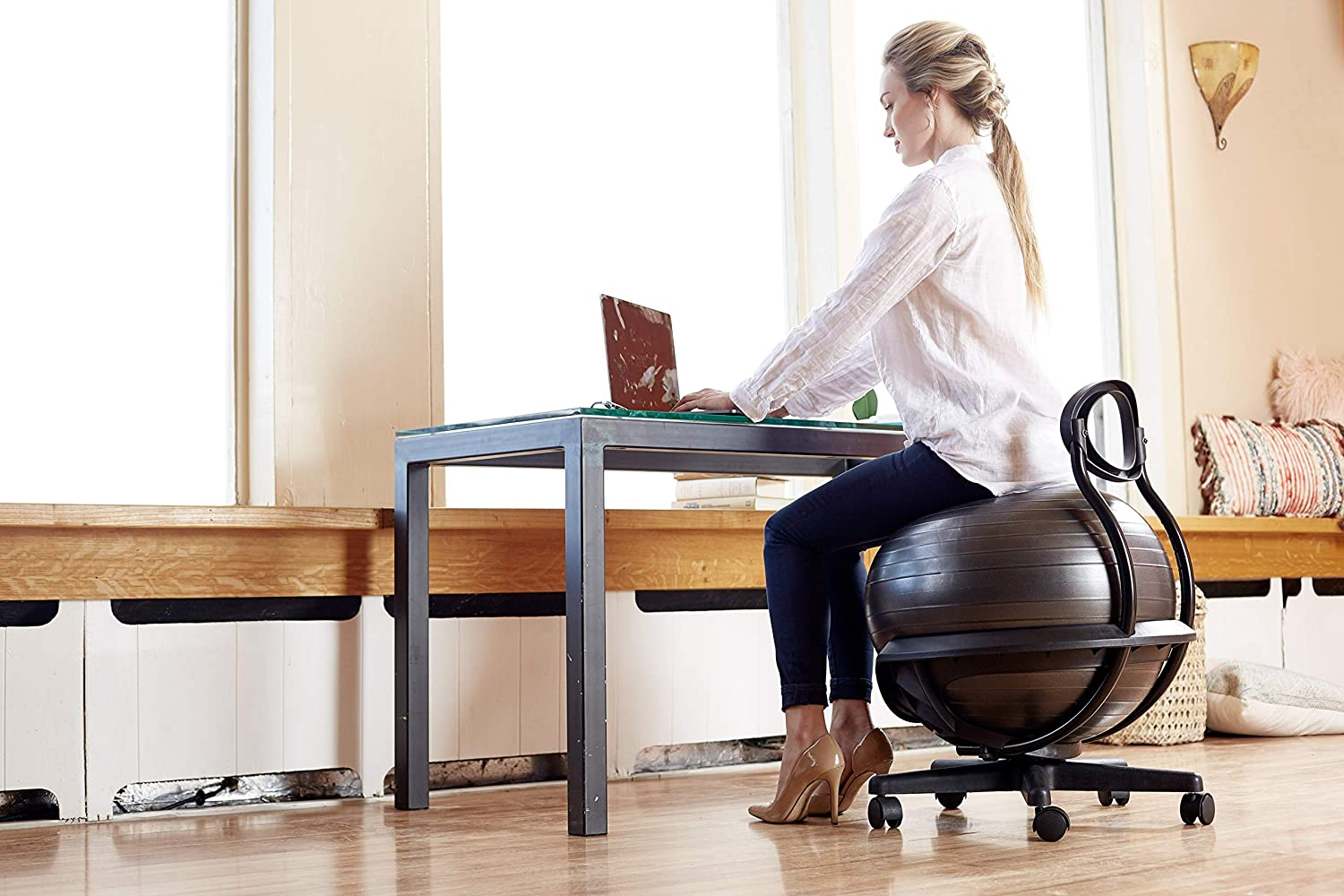 Stability Ball Chairs to Tone Your Midsection Without Even Trying