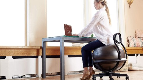 Stability Ball Chairs to Tone Your Midsection Without Even Trying | StyleCaster
