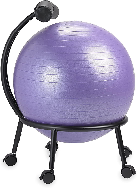 Gaiam stability ball chair