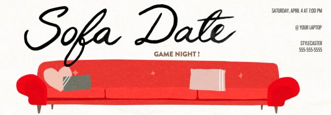 Game Night Virtual Invitation Evite