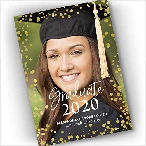 STYLECASTER | Virtual Graduation Ideas 2020 | graduation announcement