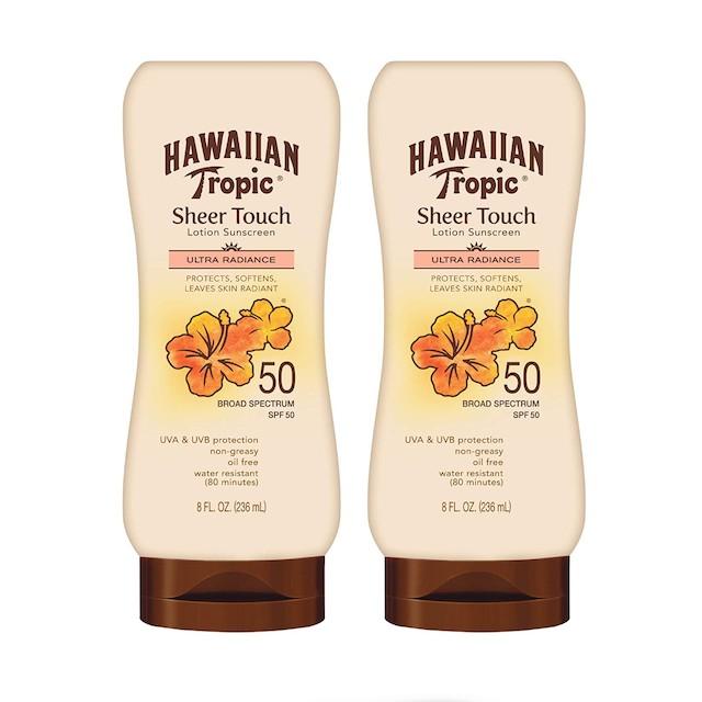 Hawaiian Tropic SPF 50 Broad Spectrum Sunscreen