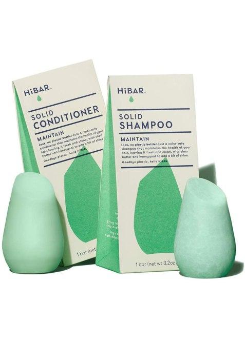 HiBAR Plastic-Free Shampoo Bar & Conditioner Bar