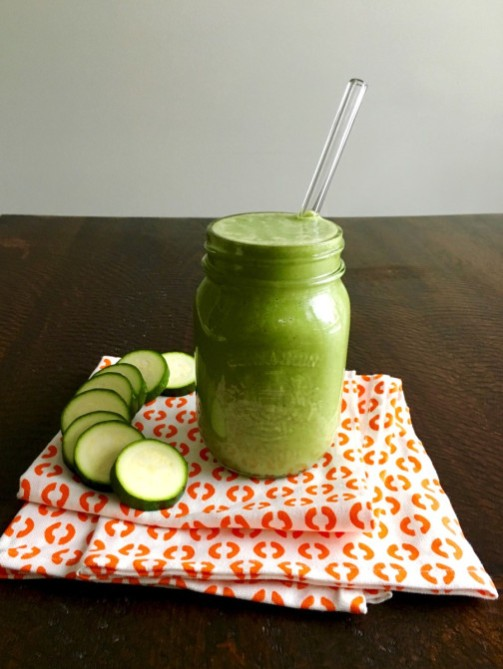 STYLECASTER | quick smoothie recipes zucchini almond butter