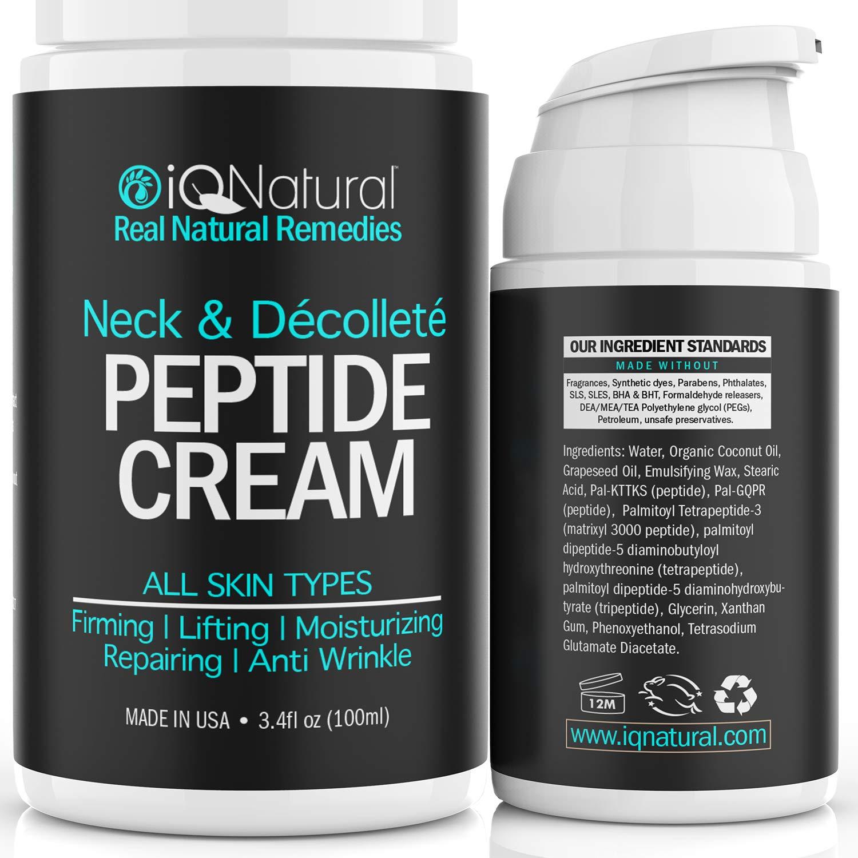IQ Natural neck firming cream