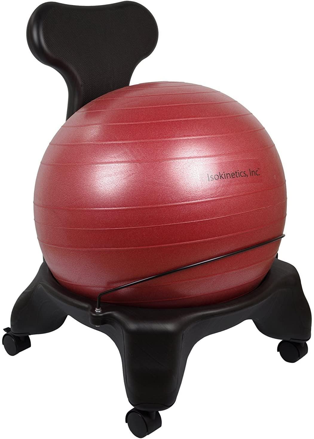 Isokinetics balance ball chair amazon