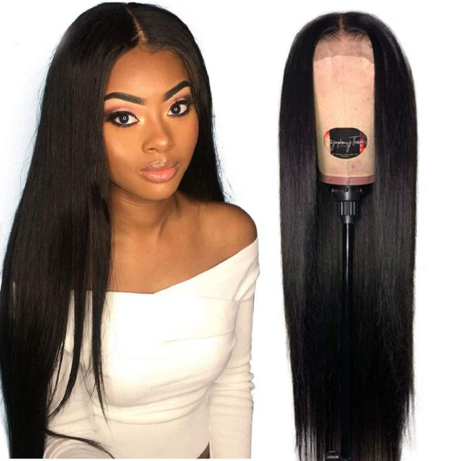 Jaja Hair 13 x 6 Natural Brazilian Lace Front Wig