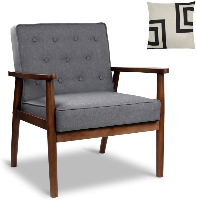 Mid-Century Retro Modern Accent Chair