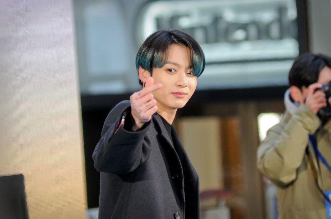 Jungkook hair