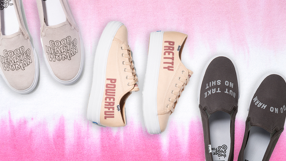 """Keds' New Collab Features Some """"Pretty Powerful"""" Messaging"""