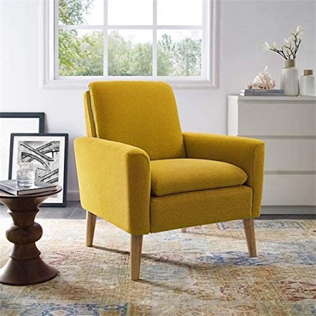 Lohoms Modern Accent Fabric Chair