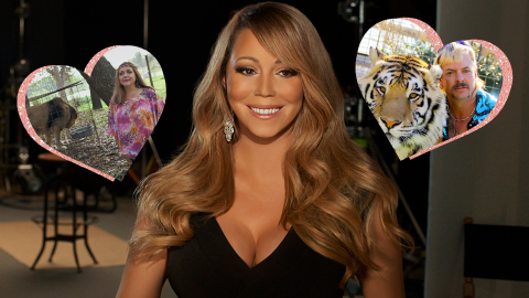 Mariah Carey Baked a 'Tiger King' Cake, and We're Actually Screaming | StyleCaster